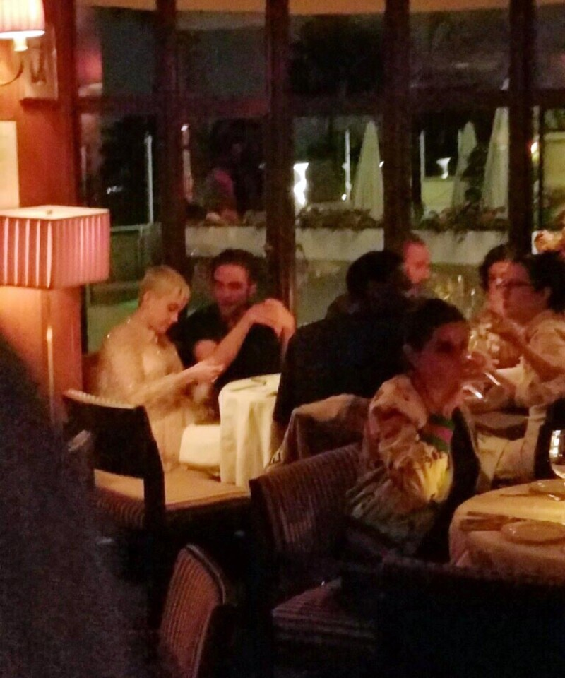 Katy y Robert cena