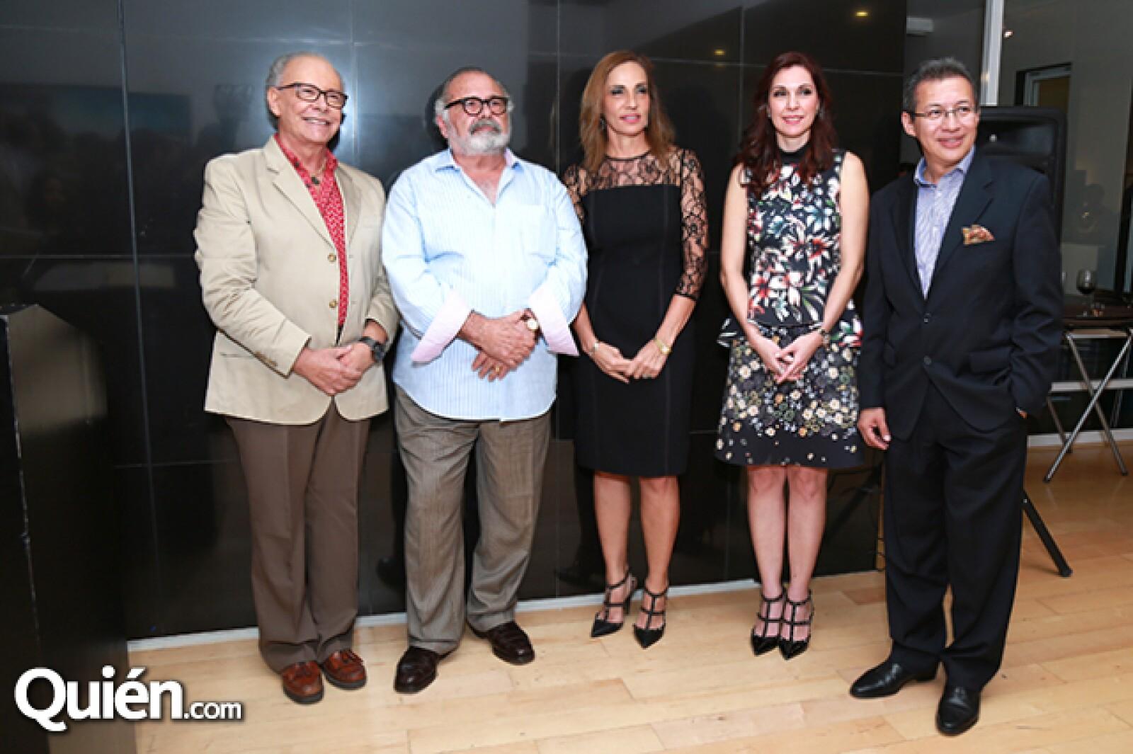 Enrique González,Guillermo Sepúlveda,Isabel Ruenes de Martin,Laura Garza de Garza y Jorge Romero