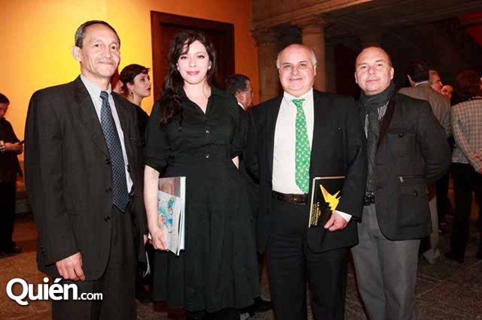 Luis Enrique Ramos,Anel Rosas,Jorge Garza Aguilar y Javier Alardin