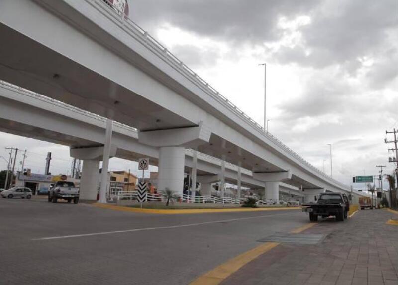 Puente Los Gemelos, en Durango