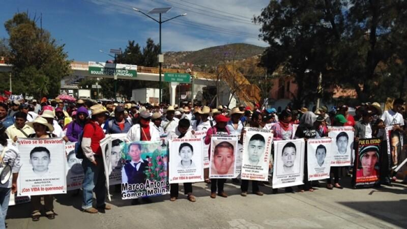 Marcha en Chilpancingo