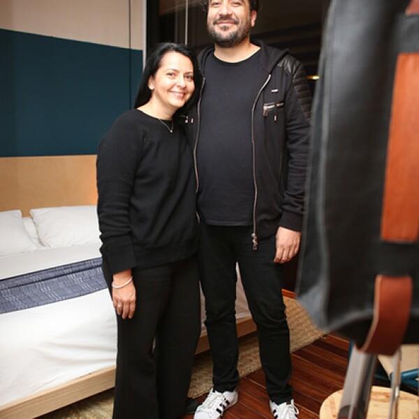 Colette Decroux y Juan Carlos Campos