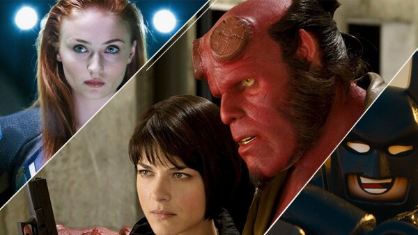 X-Men, Hellboy y Lego Movie