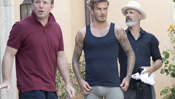 Guy Ritchie y David Beckham trabajaron juntos para un nuevo spot de H&M