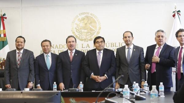 La Junta de Coordinación Política dijeron en conferencia de prensa sobre el periodo extraordinario de sesiones.