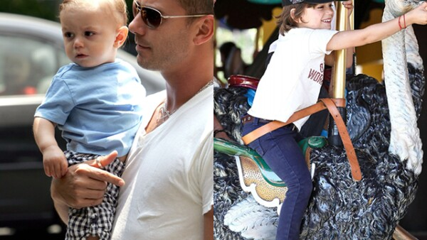 ¡Qué tierno! Así lucía Kingston Rossdale, hijo de Gwen Stefani y el rockero Gavin Rossdale. Hoy es todo un niño grande, y muy trendy por cierto.