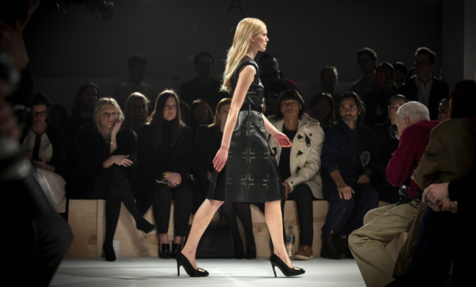 La firma Calvin Klein presentó la tarde del jueves su más reciente colección.
