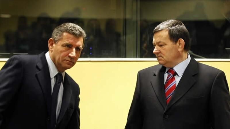 Ante Gotovina y Mladen Markac