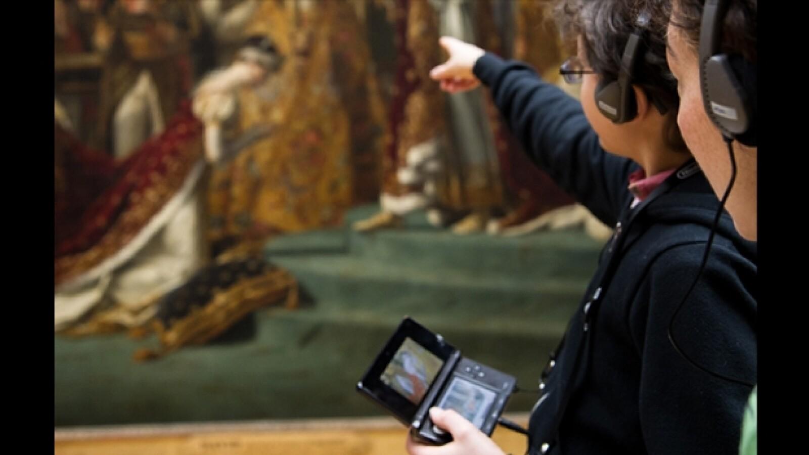 Nintendo 3DS Louvre