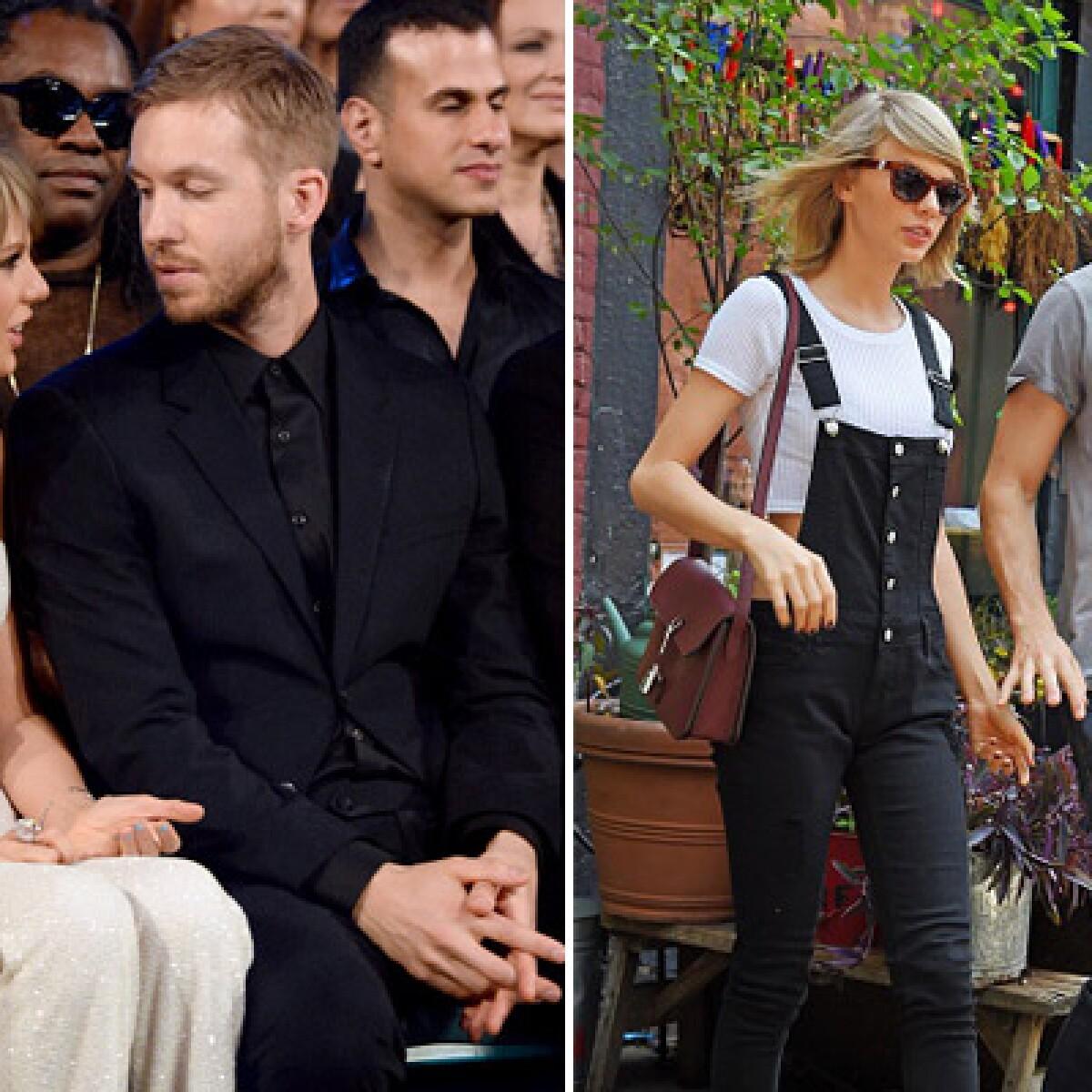 Calvin Harris es &#39increíblemente feliz&#39 con Taylor Swift