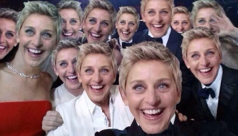 """En la famosa selfie grupal que tomó Ellen durante los Oscar los lectores la """"mejoraron""""."""