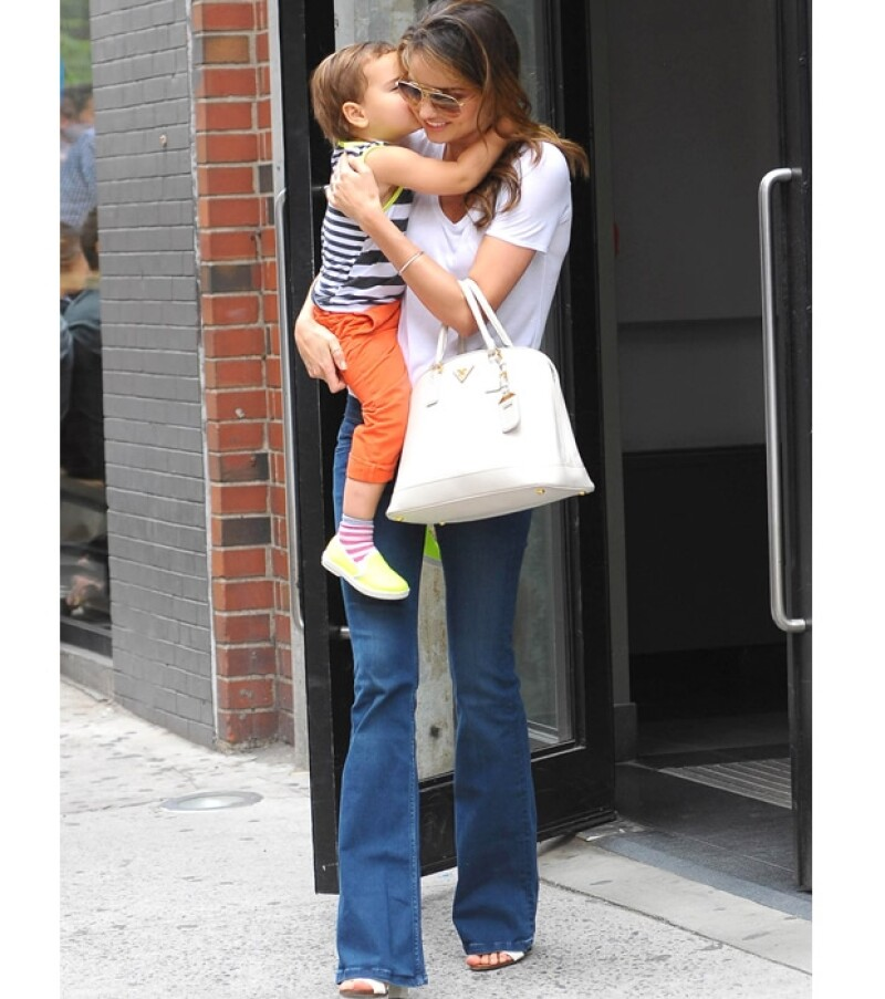 Flynn es considerado como uno de los bebés más tiernos de Hollywood.