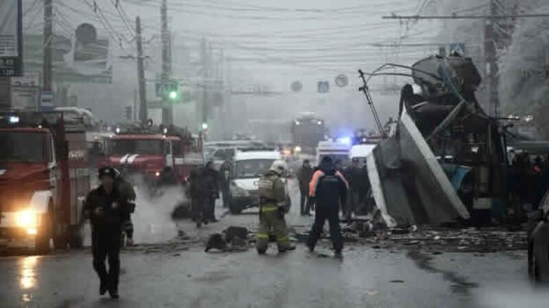 personal nueva explosión Volgogrado Rusia 10 muertos