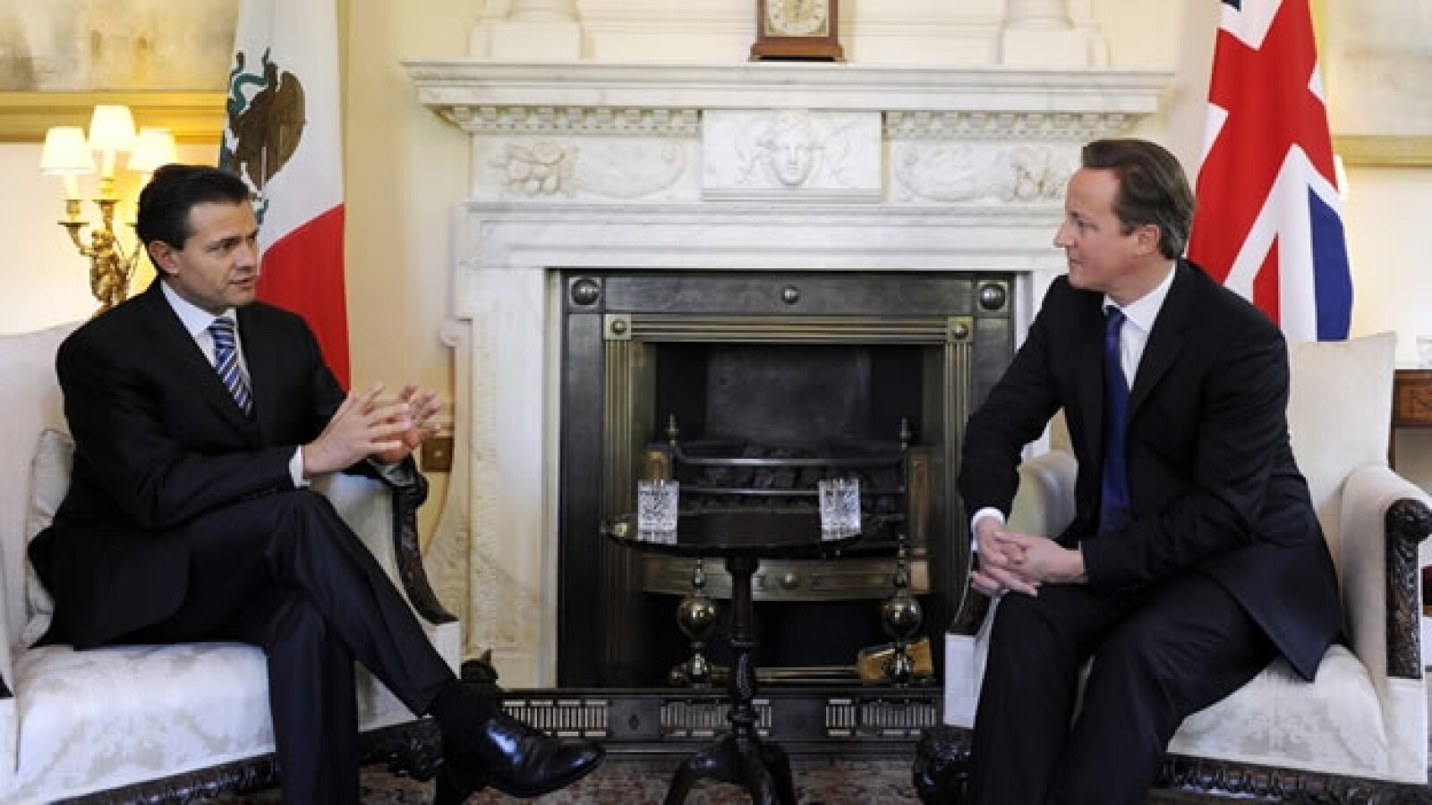 Peña Nieto se reúne con David Cameron