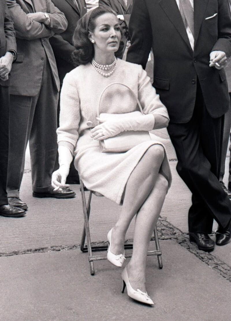María Felix destacó en la Época de Oro del cine mexicano por su belleza, estilo e indomable personalidad.