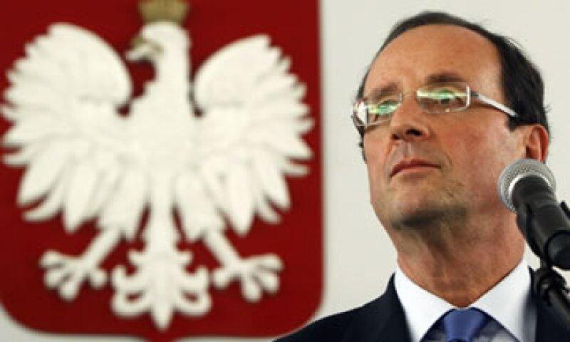 Fitch reconoció en un comunicado que el triunfo de Hollande representaba un cambio importante en el liderazgo de Francia y de Europa. (Foto: AP)