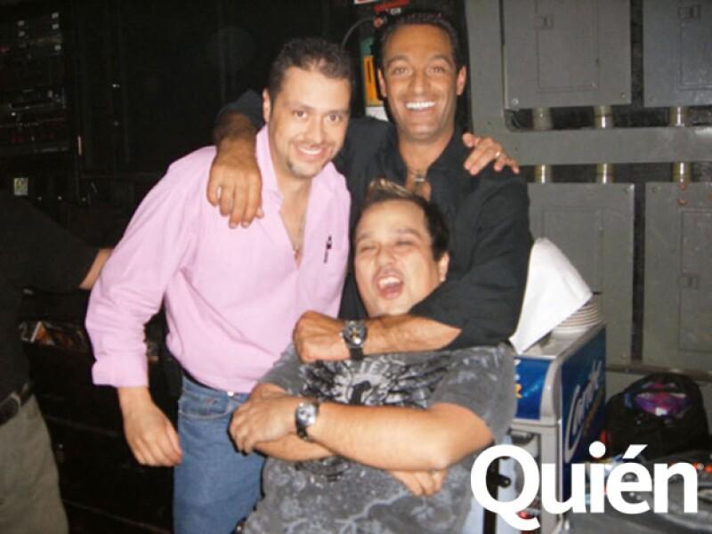 Miguel Díaz, Carlos Slim Domit y Dano Gómez. El Charal siempre tiene su emsa reservada en el Baby
