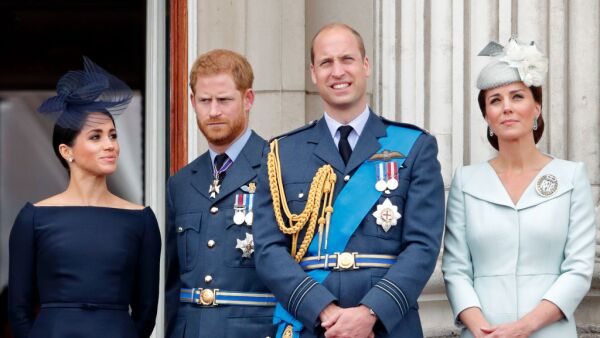duques de Cambridge y duques de Sussex