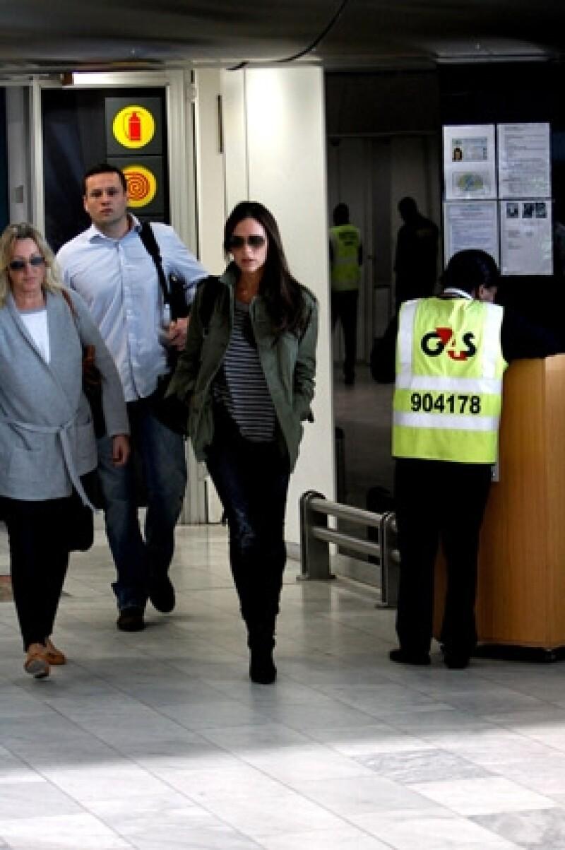 Desde su llegada a Cape Town, Victoria fue seguida por los fotógrafos.