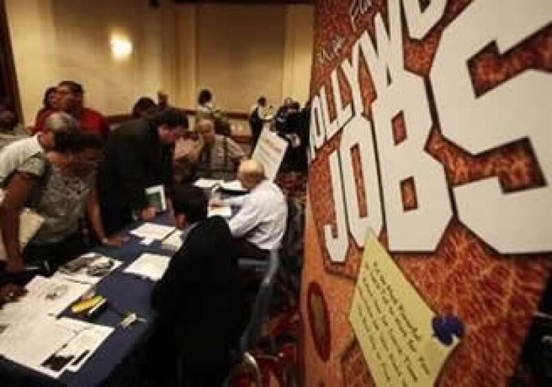 La cifra de desempleados en EU creció desde un nivel de 449,000. (Foto: Reuters)