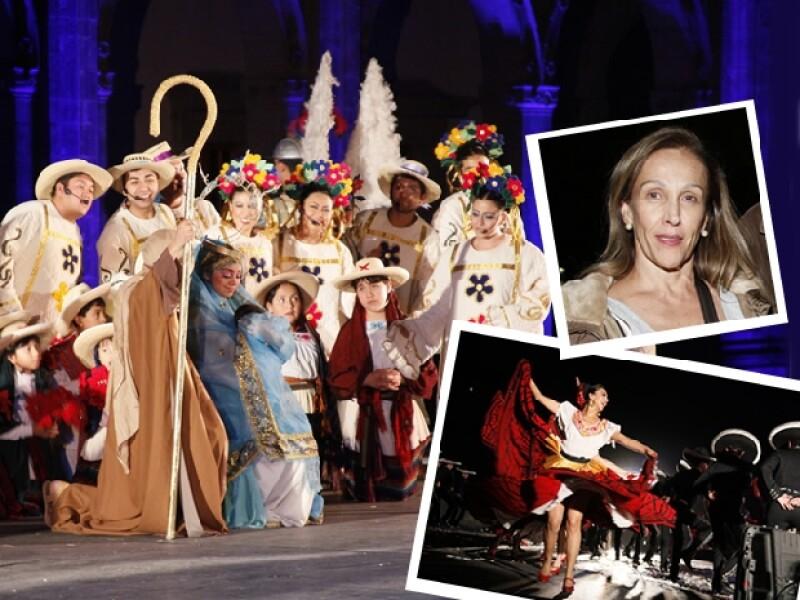 """El Castillo de Chapultepec alberga un año más la puesta en escena: """"Navidades en México"""", del Ballet Folclórico de México de Amalia Hernández."""