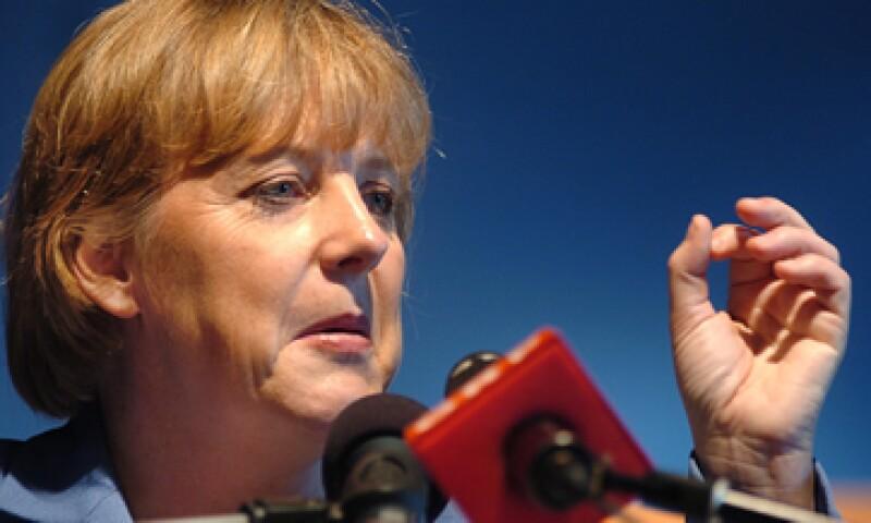 Un líder político conservador de Grecia rechazó la idea de Merkel. (Foto: AP)