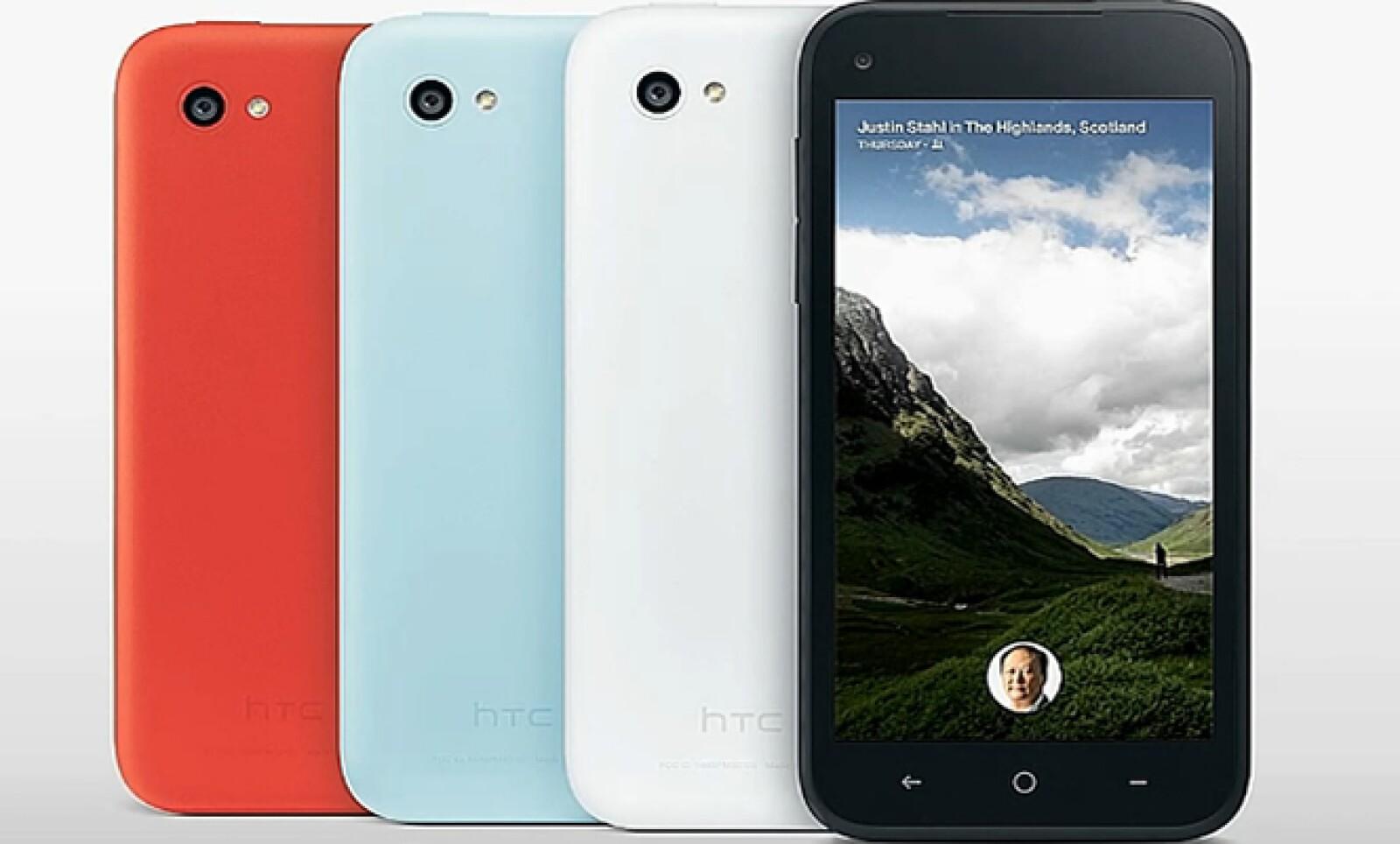 HTC First es el nombre del teléfono que viene con Facebook Home precargado.