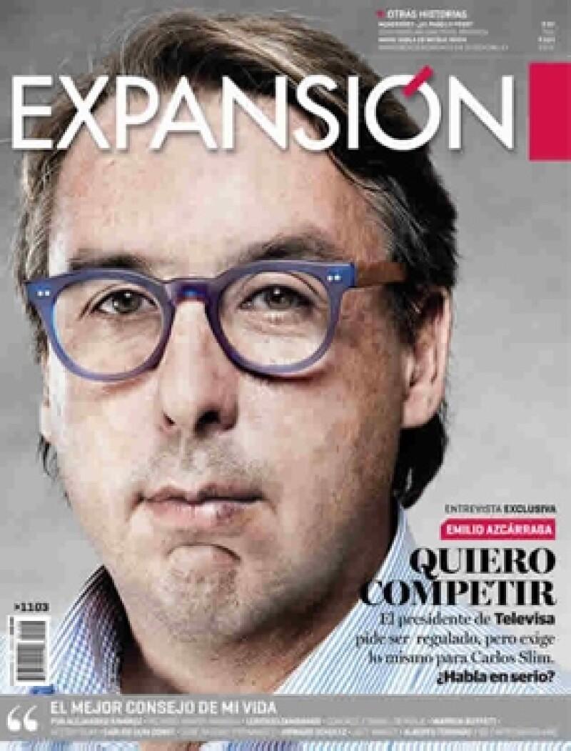 El hombre más poderoso los medios de comunicación en español ofreció una entrevista a la revista Expansión y comentó que su empresa siempre escuchará a los jóvenes.