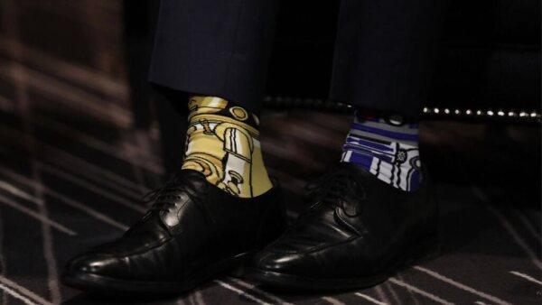 Star wars calcetines Trudeau