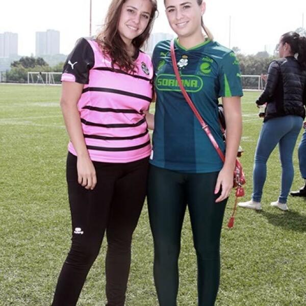 Mariana Sánchez Navarro y Pía Herrera