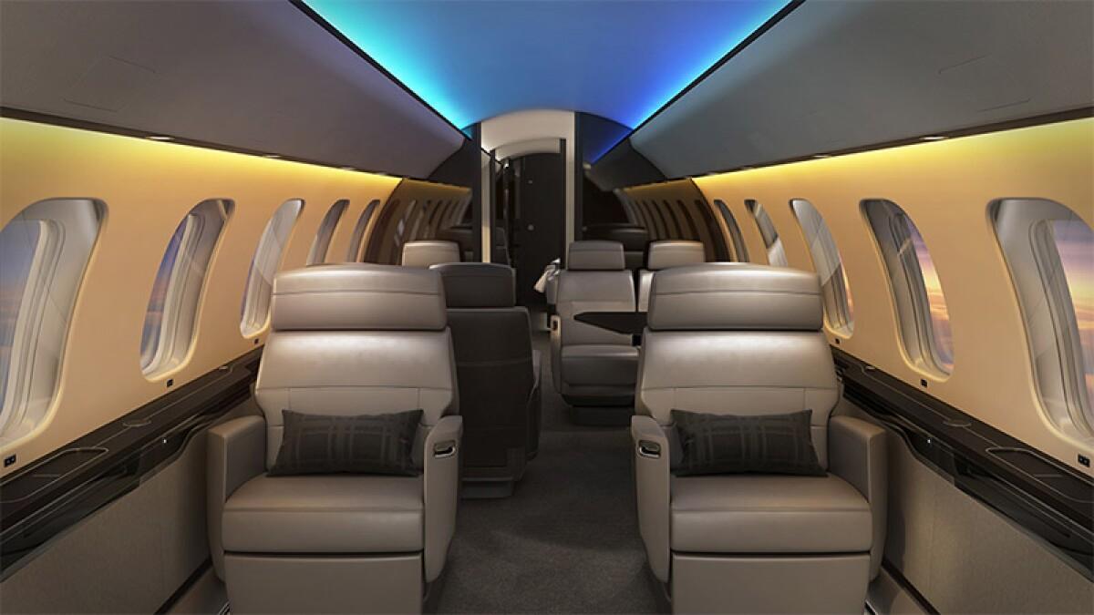 Conoce el avión que combate el jet lag con luces