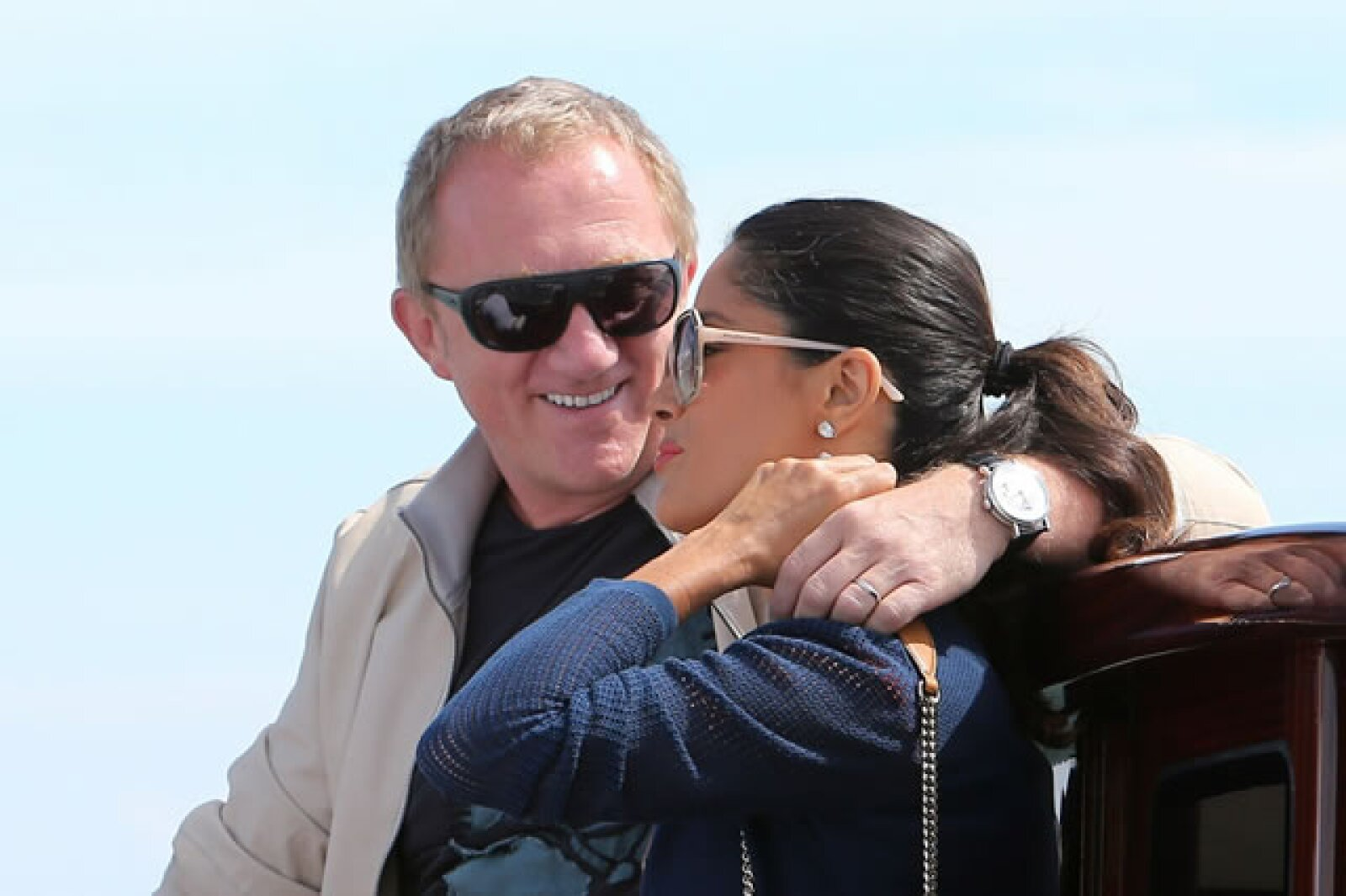 En septiembre de 2007, Salma dio a luz a Valentina Paloma, la primera hija de Hayek, pero la tercera de Pinault.
