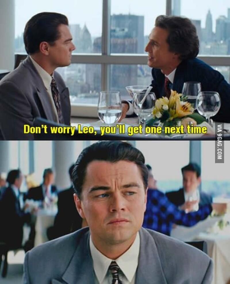 Leonardo DiCaprio nuevamente.