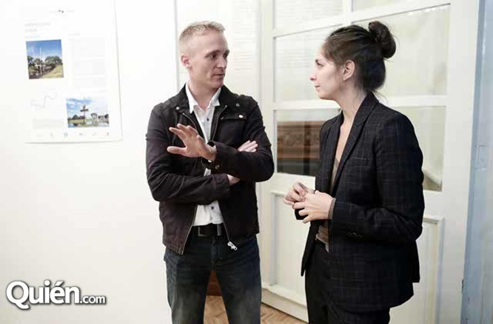 Mathieu Anguenot y Liza Trottet