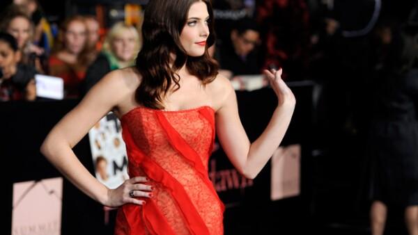 La guapa Ashley Greene, quien le da vida a Alice Cullen en la película.
