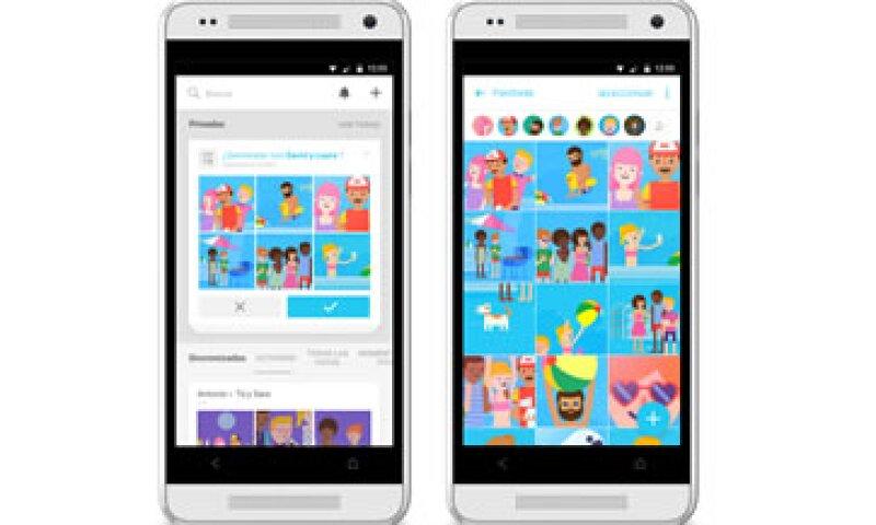 La app revisa las imágenes en tu teléfono y las agrupa usando reconocimiento facial. (Foto: Cortesía/Facebook )