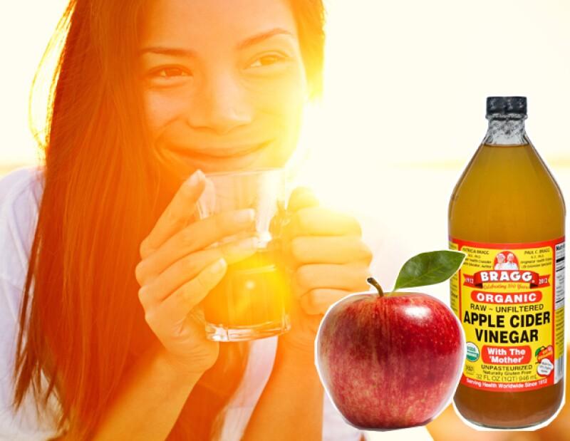 Gracias a su alto contenido en magnesio, potasio y calcio, el vinagre de cidra de manzana ayuda a eliminar la celulitis.