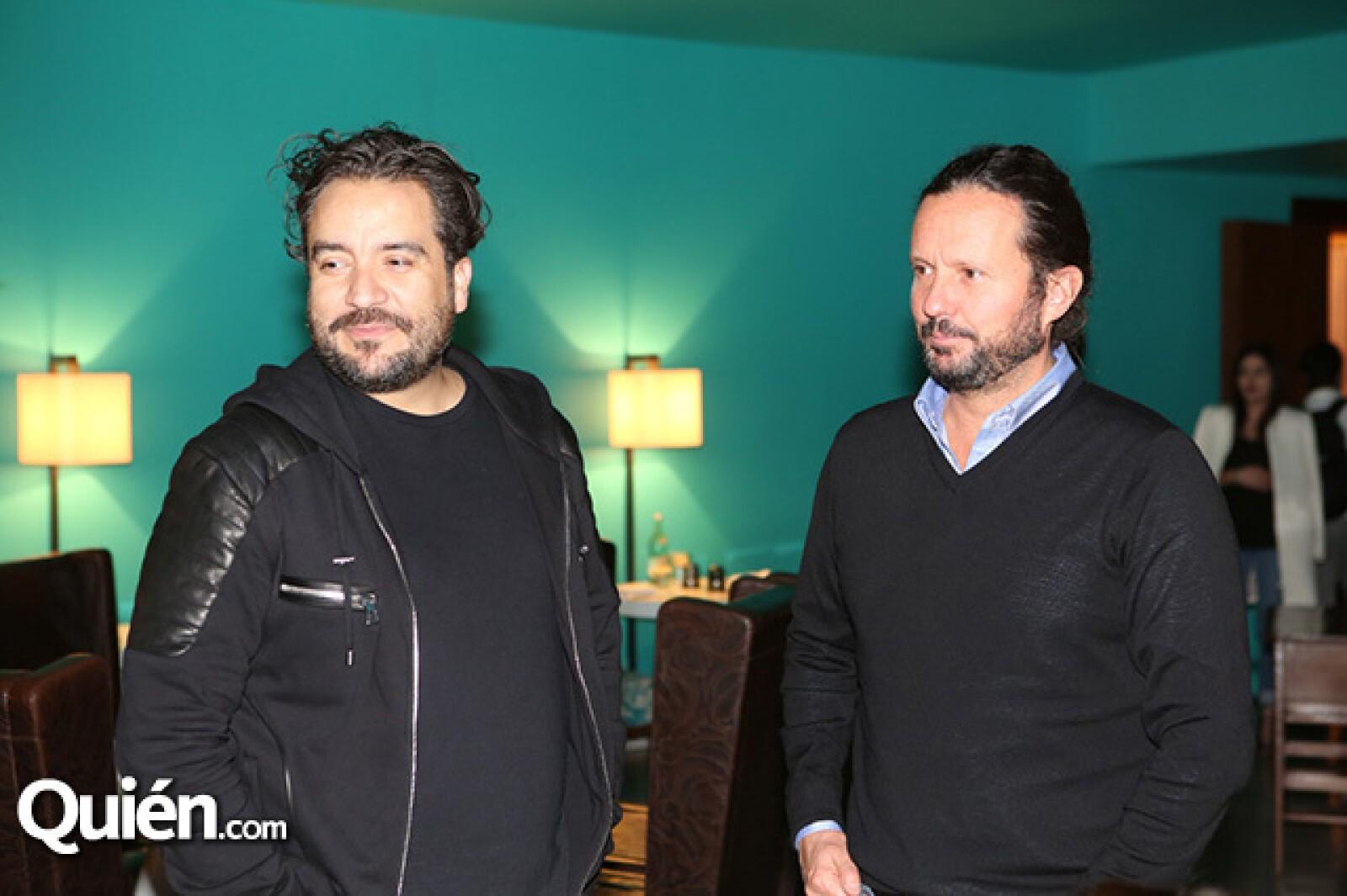 Juan Carlos Campos y Eduardo Prieto