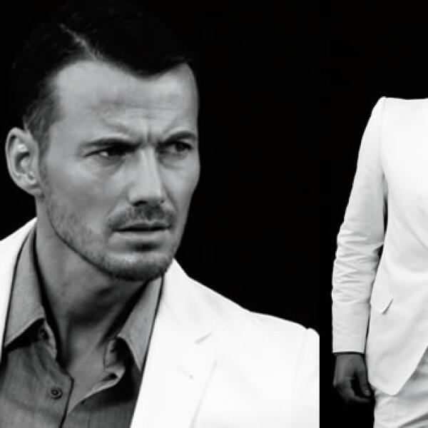 A sus 41 años este sueco de cabello oscuro y ojos claros ha modelado al lado de Laetitia Casta y Valeria Mazza.