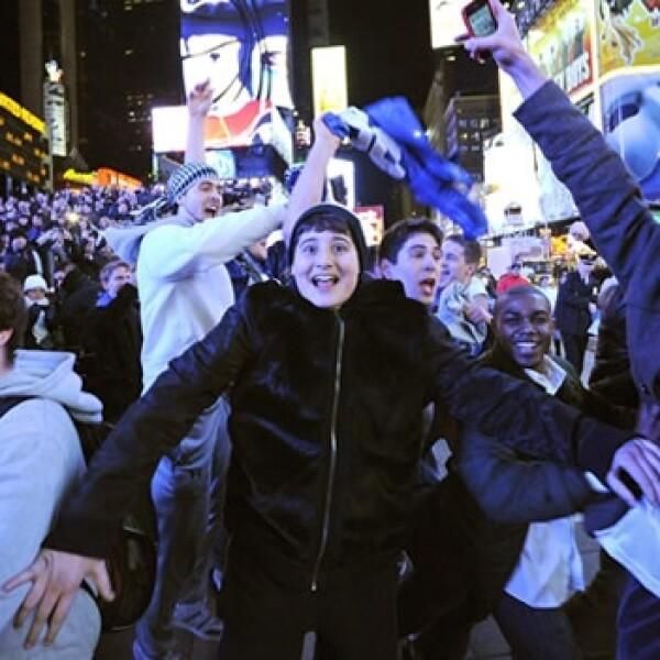 festejos celebracion gigantes nueva york superbowl