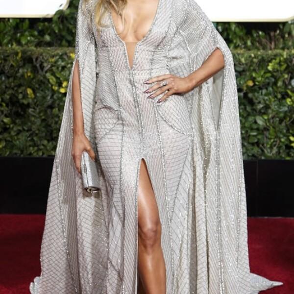 La cantante Jennifer López fue presentadora de dos premios