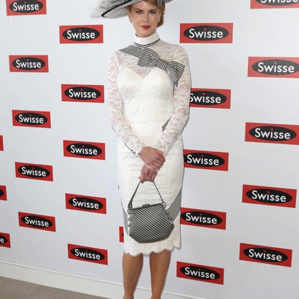 Nicole Kidman- `Me recuerda un poco a Audrey Hepburn. Ninguna de sus caras se ha movido desde los 90´.
