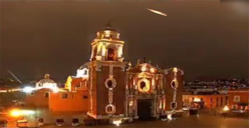 El fenómeno atravesó el centro del país y cayó en Puebla por la madrugada.