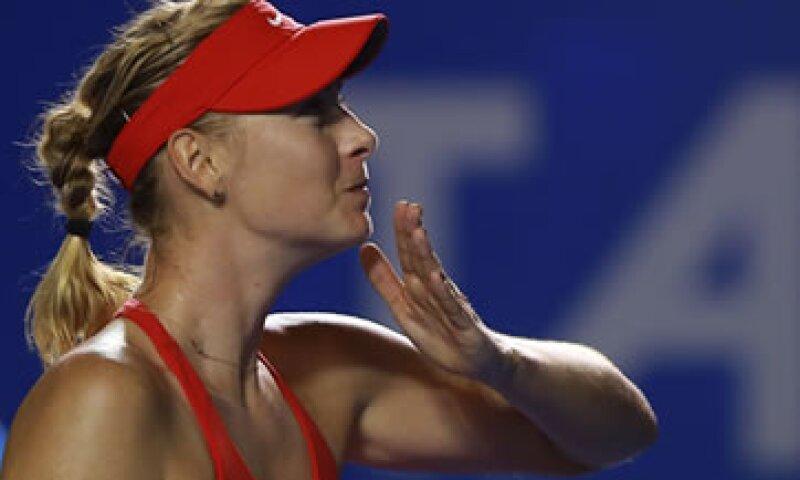 Sharapova ganó 1.5 millones de dólares en el Abierto de Australia. (Foto: Getty Images )