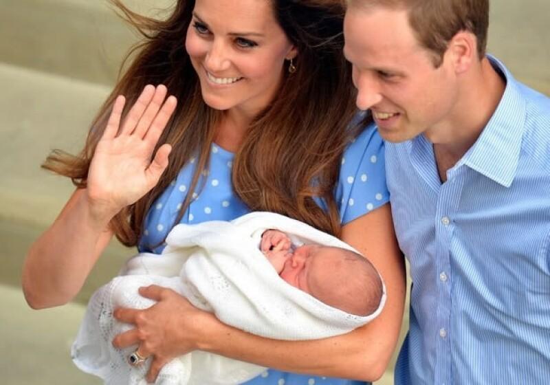 El bebé será bautizado el 23 de octubre.