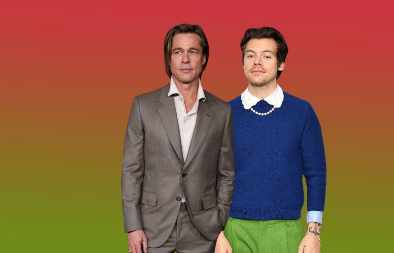 Brad Pitt y Harry Styles