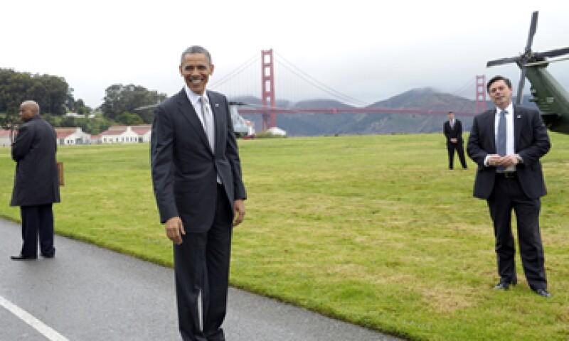 El presidente propone una reducción de 1.8 billones en el déficit en los próximos 10 años. (Foto: AP)