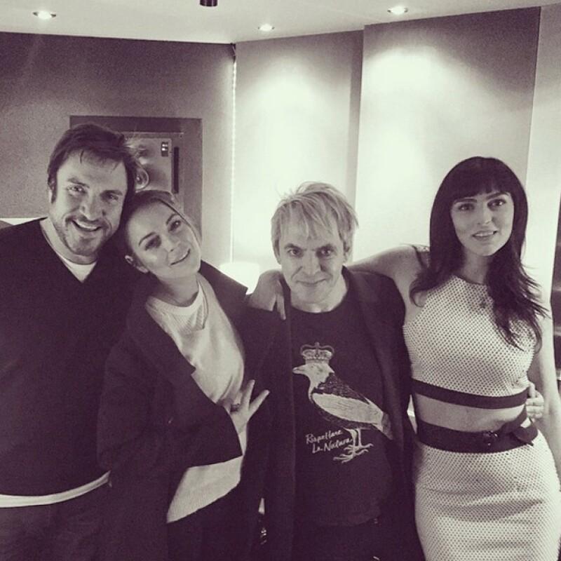 El nuevo material de la banda Duran Duran contará con una participación muy especial, Lindsay Lohan, quien sorprende nuevamente con su voz.