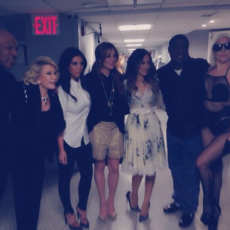 """Ayer fue el primer programa del presentador al frente de """"Tonight Show"""" y además de la mexicana, también lo acompañaron Kim Kardashian, Sarah Jessica Parker; Will Smith, Lady Gaga y más."""