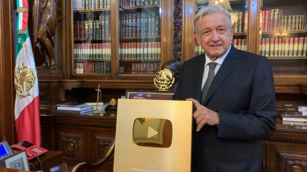 Boton de oro YouTube